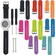 Silicone Watch Band Strap Kit For Garmin Vivoactive/ Approach S2 Approach S4 GPS