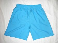 Men Solid Blue Shorts Casual Volleys Basketball Boardshort Man Swim Trunks Nylon