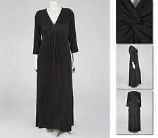 NEW!  Zaftique SLIM KNOT DRESS Black 0Z 1Z / 14 16 / Large L XL 1X