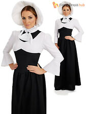 Ladies Victorian Lady Costume Adult Posh Historical Fancy Dress Womens Outfit