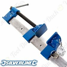 HEAVY DUTY SILVERLINE EXPERT SASH CLAMPS LARGE - HUGE RANGE Strong STEEL Cramp