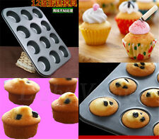 Hot Mini Muffin Cup Silicone Soap Cookies Cupcake Bakeware Pan Tray Mould Mold v