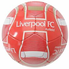 Liverpool FC Velocity Football Red/White EPL Replica Soccer Ball