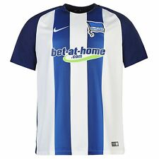 Nike Hertha Berlin Away Jersey 2016 2017 Mens Blue/White Football Soccer Shirt