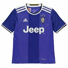 Adidas Juventus Away Jersey 2016 2017 Juniors Blue Football Soccer Top Shirt