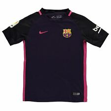 Nike FC Barcelona Away Jersey 2016 2017 Juniors Purple/Pink Football Soccer Top