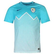 Nike Slovenia Home Jersey 2016 Mens Clearwater/White Football Soccer Top Shirt