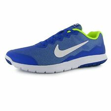 Nike Flex Experience 4 Running Shoes Mens Blue/White/Volt Trainers Sneakers
