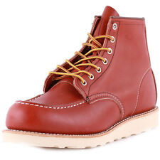 Red Wing 6-inch Moc Toe Mens Boots Rust New Shoes