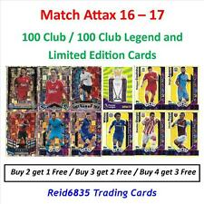 Match Attax 16 - 17: Hundred / 100 Club, 100 Legends & Limited Editions