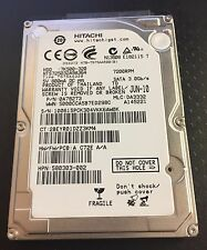 320GB Hitachi Notebook Laptop SATA Hard Drive P/N 0A78273
