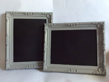 1x Shabby Chic White Framed Chalkboard Blackboard Vintage French Antique Wedding