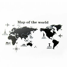 World Map Wall Sticker Decal Vinyl Wall Stickers Decor Living Room Removable