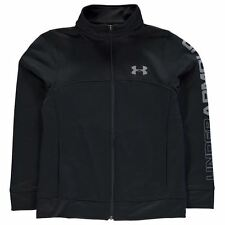 Under Armour Childrens Brawler Warm Up Jacket Boys Zipped Overcoat Clothing