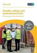 Health Safety & Environment Test for Managers & Professional HS&E DVD 2016 CSCS