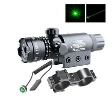 Hunting RED DOT SIGHT/RED LASER +QD MOUNT 20mm Rail For Scopes W/ Switch Hot