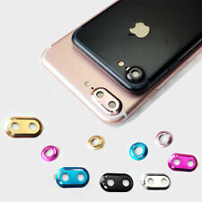 New Camera Metal Lens Protector Ring Cover Protector For Apple iPhone 7 7 Plus