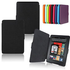 Ultra Slim Magnetic Leather Wake Smart Case Cover for Amazon Kindle Paperwhite