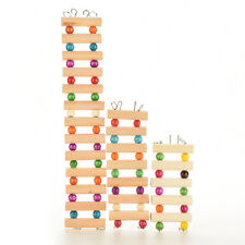 New Wooden Ladder Bridge Toys Mouse Rat Hamster Gerbil Parrot Bird Rodent
