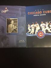 2016 Chicago Cubs & Los Angeles Dodgers Media Guides NLCS