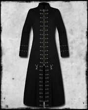 MEN BLACK HELLRAISER GOTHIC PUNK PINHEAD VAMPIRE STEAMPUNK JACKET TRENCH COAT