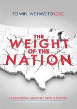 The Weight of the Nation (DVD, 2012, 3-Disc Set)Brand New