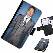 OLM01 OLLY MURS PRINTED LEATHER WALLET/FLIP CASE COVER FOR MOBILE PHONE