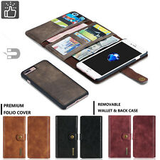 2in1 Magnetic Detachable Flip Leather Wallet Card Cover Case For iPhone 7/7 Plus