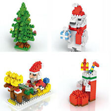 Christmas Series Nano Building Blocks Bricks Sets  Kids Educational Toys Cute