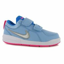Nike Pico 4 Trainers Junior Girls Blue/Silver Sports Shoes Sneakers Footwear