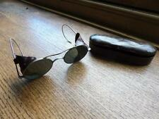 WW2 RAF Pilots & Aircrew Issue Military Flying Sunglasses Goggles & Tin Case