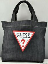 NEWEST! GUESS Handbag Ladies GWP Denim Totes Bag Purse USA