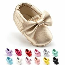 Toddlers Baby Boys Girls Anti-slip Soft Sole Shoes Prewalkers Slippers Casual