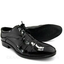 Work Lace Up Office Faux Leather Formal Oxford Shoes 39-44 AU sz 5 6 7 8 10