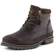 Caterpillar Oatman Mens Ankle Boots Brown New Shoes