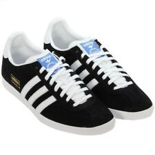 ADIDAS ORIGINALS GAZELLE OG BLACK TRAINERS SHOES SIZES 7 - 12 SNEAKER NEW CASUAL