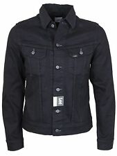MENS NEW LEE RIDER DENIM VINTAGE JACKET IN BLACK COLOUR ONLY SMALL SIZE
