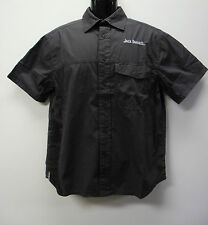 Official Jack Daniel's Grey Button Up Shirt with Collar Sizes S M L 3XL BNWT