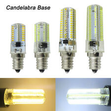 E12 Candelabra Base C7 64/80/104/152 3014 SMD LED Light Bulb Lamp 110/220V