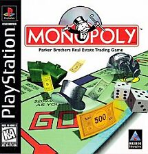 Monopoly (Sony PlayStation 1, 1998) FREE SHIPPING Complete