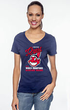 "Cleveland Indians ""A Tribe Called Quest"" World Series Graphic T-shirt Women's"