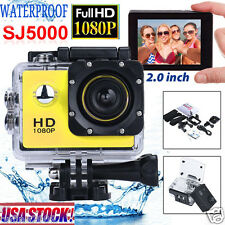 SJ5000 HD Sport Action DV Full 1080P 12MP Waterproof Cam Camcorder Camcorder US