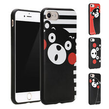 Fit for Apple iPhone 6 6s Comic Cartoon Cute Japan Bear Soft Case Cover Shell