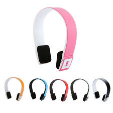 New Wireless Bluetooth Headset Stereo Earphone Headphone For Samsung iPhone HTC