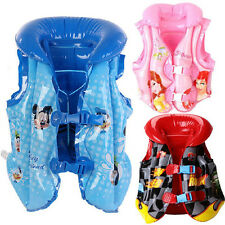 Baby Kid Toddler Inflatable Beach Pool Swim Wear Life Jacket Vest Float Training