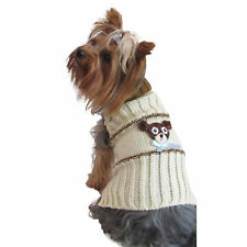 Bear Dog sweater puppy pet clothes apparel Yorkie Chihuahua outfut X Small Large