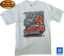 66 67 NOVA SS ATTITUDE TO BURN T-SHIRT CHEVY II 62 63 64 65 68 69 70