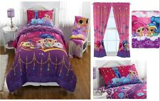 **NEW SHIMMER AND SHINE GENIES BED IN A BAG / COMFORTER SET - 2 PRINTS