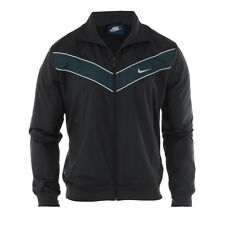MEN'S NIKE TRACK JACKET/WIND BREAKER *647494 - 010* (BLK/WHT) SIZE MEDIUM *NWT*