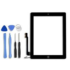 For iPad 4 Front Touch Screen Digitizer Display Glass Panel with Home button US